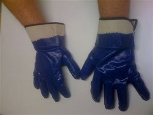 Latex Farm Gloves