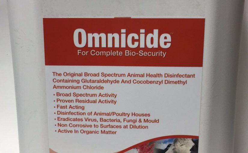 OMNICIDE  DISENFECTANT 5LT